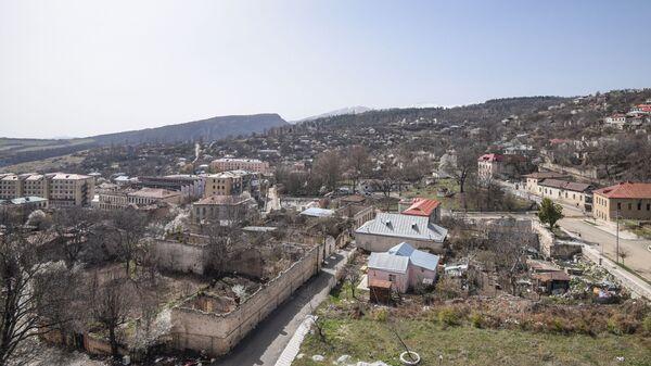 Вид на город Шуша, фото из архива - Sputnik Азербайджан