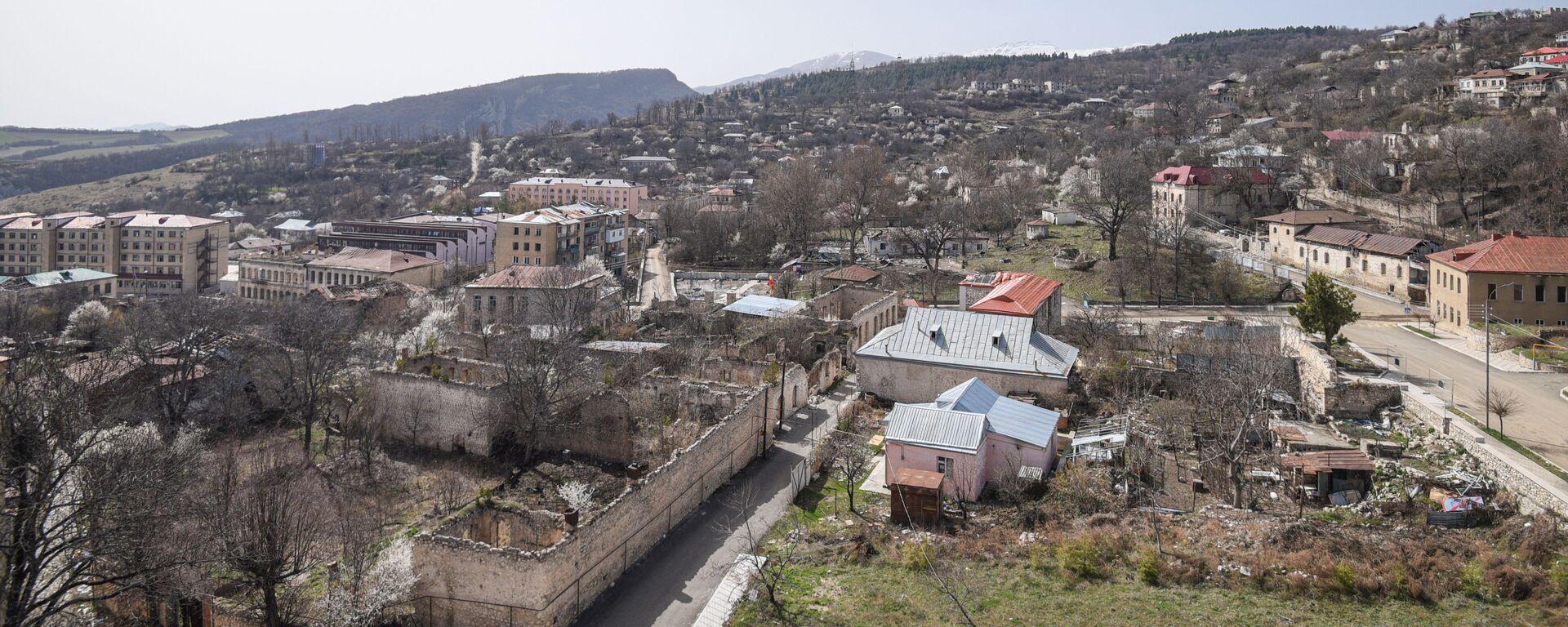 Вид на город Шуша, фото из архива - Sputnik Азербайджан, 1920, 21.09.2021