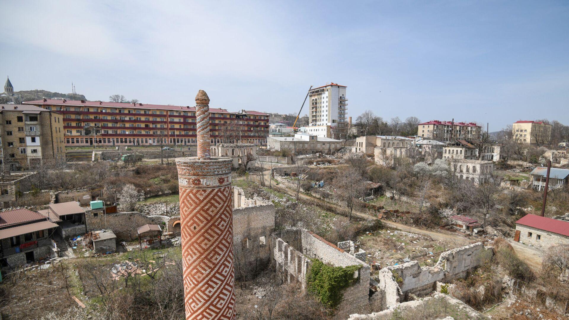 Вид на город Шуша, фото из архива - Sputnik Азербайджан, 1920, 14.10.2021