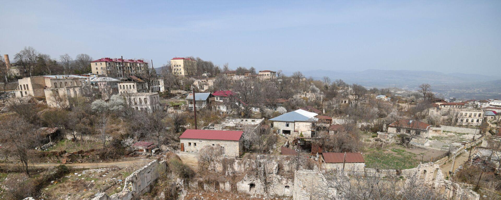 Вид на город Шуша, фото из архива - Sputnik Azərbaycan, 1920, 18.09.2021