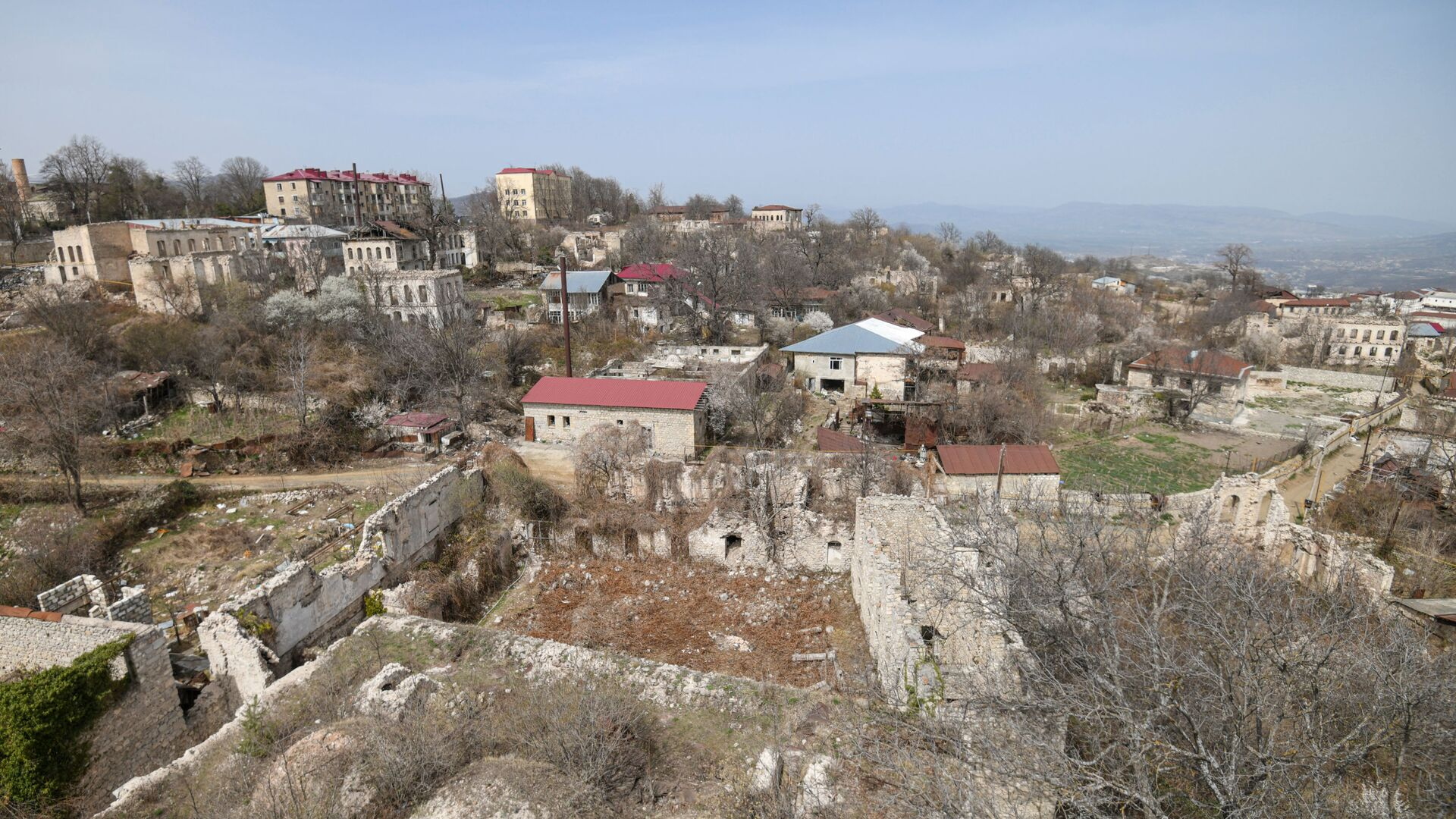 Вид на город Шуша, фото из архива - Sputnik Azərbaycan, 1920, 25.08.2021