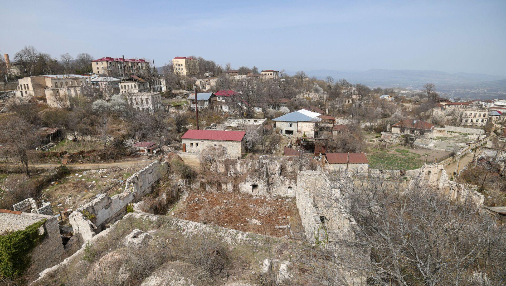 Вид на город Шуша, фото из архива - Sputnik Азербайджан, 1920, 12.09.2021