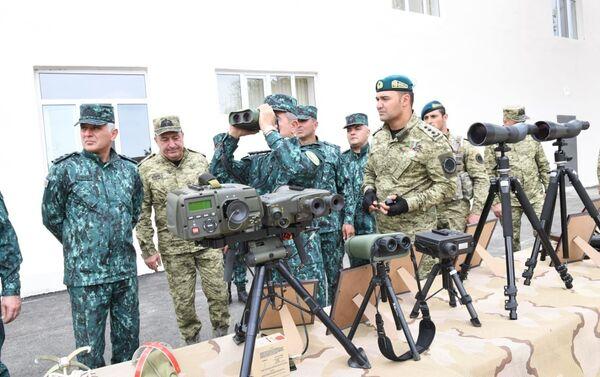 Церемония открытия новых воинских частей ГПС в Губадлы и Лачин - Sputnik Азербайджан