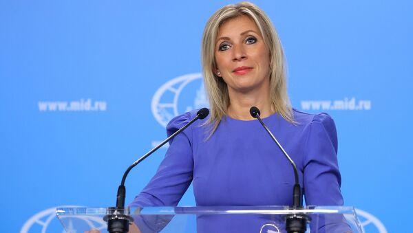 Официальный представитель Министерства иностранных дел России Мария Захаров - Sputnik Азербайджан