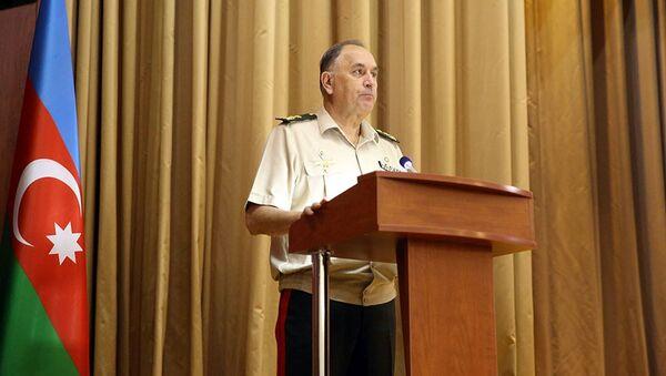 Заместитель министра обороны Азербайджана Керим Велиев  - Sputnik Azərbaycan