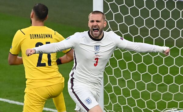 Защитник сборной Англии Люк Шоу - Sputnik Азербайджан