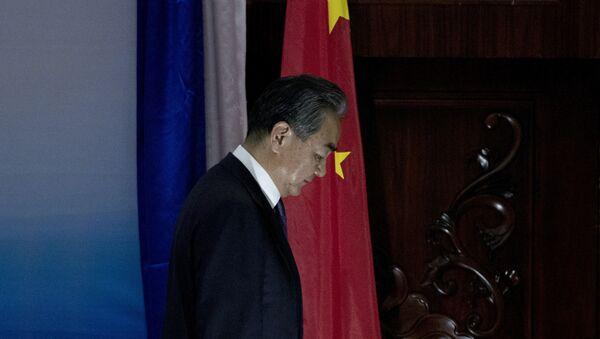 Министр иностранных дел КНР Ван И, фото из архива - Sputnik Азербайджан