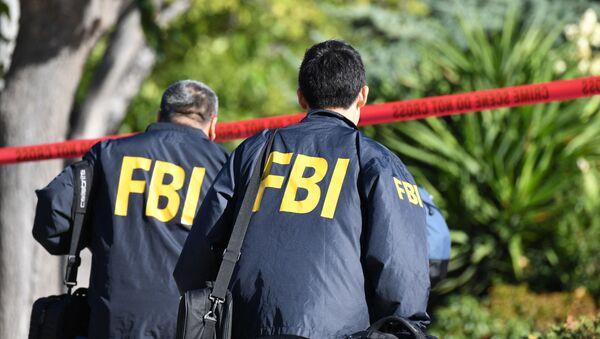 Сотрудник ФБР в Калифорнии, фото из архива - Sputnik Азербайджан