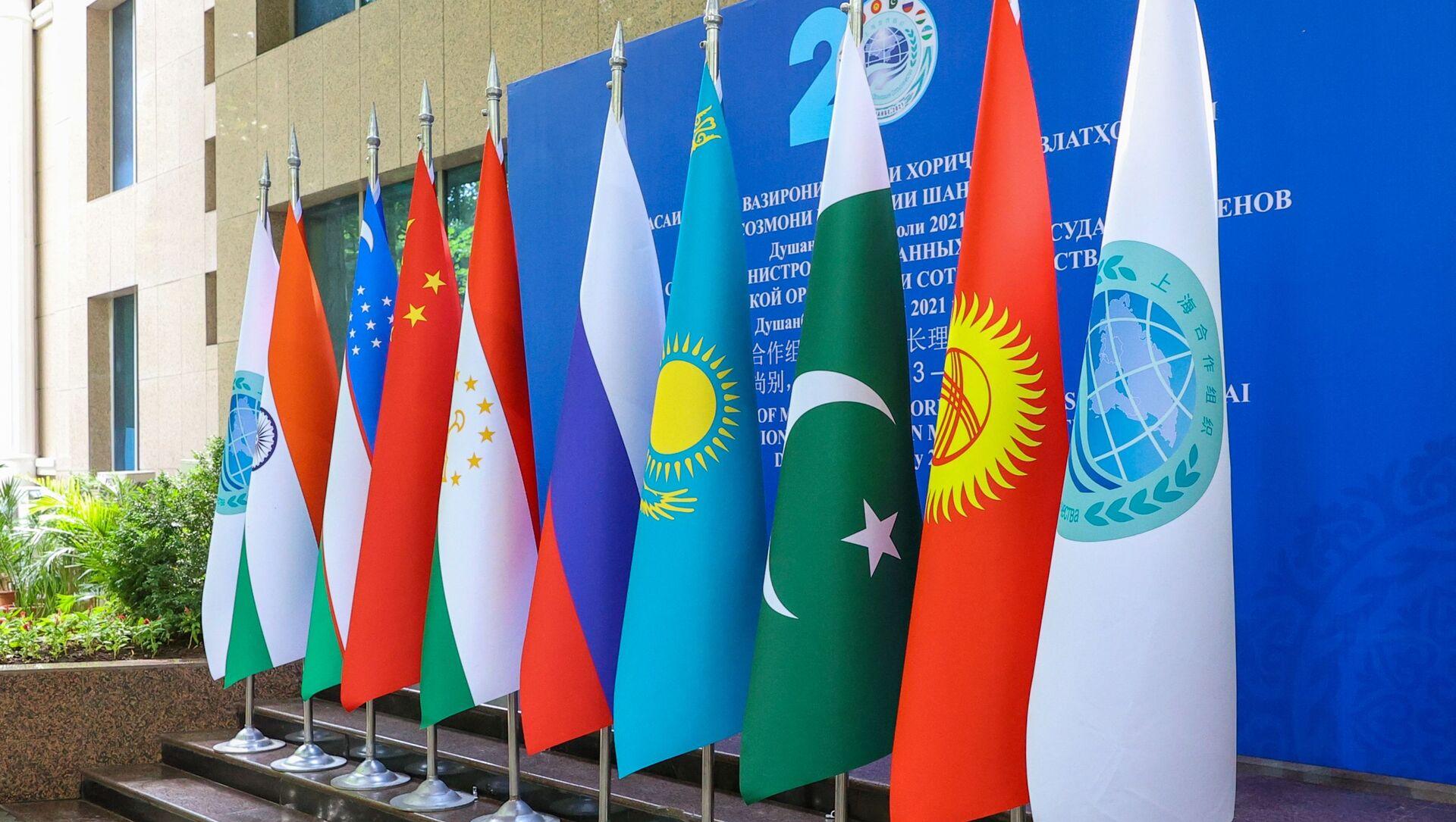 Заседание Совета министров иностранных дел государств - членов ШОС - Sputnik Azərbaycan, 1920, 17.09.2021