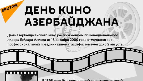 Инфографика: День кино Азербайджана - Sputnik Азербайджан