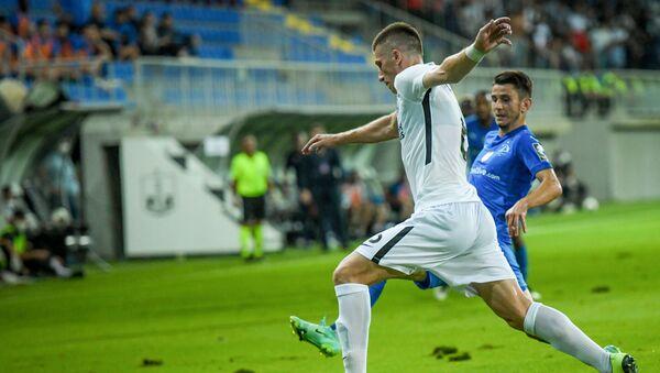 Матч первого квалификационного раунда Лиги чемпионов между бакинским Нефтчи и тбилисским Динамо - Sputnik Азербайджан