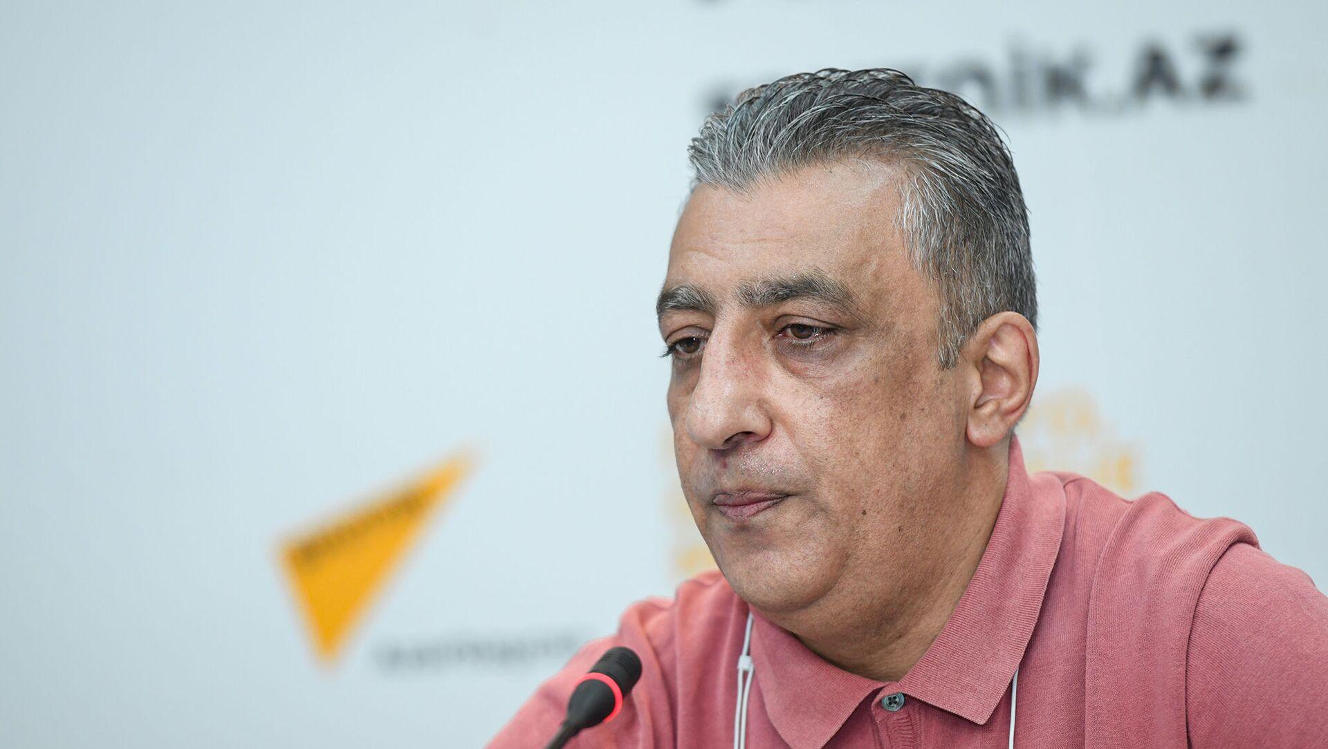 Председатель правления Ассоциации отелей и ресторанов Азербайджана Самир Дюбенди - Sputnik Азербайджан, 1920, 17.08.2021