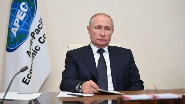 Президент РФ В. Путин принял участие в неформальной встрече форума АТЭС - Sputnik Азербайджан