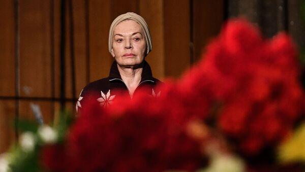 Прощание с актером Алексеем Петренко в Доме кино - Sputnik Азербайджан