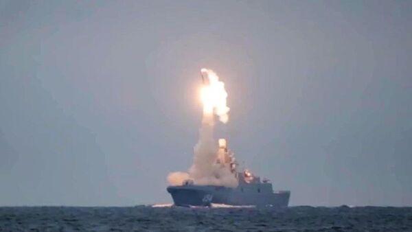 Испытание гиперзвуковой ракеты Циркон - Sputnik Азербайджан