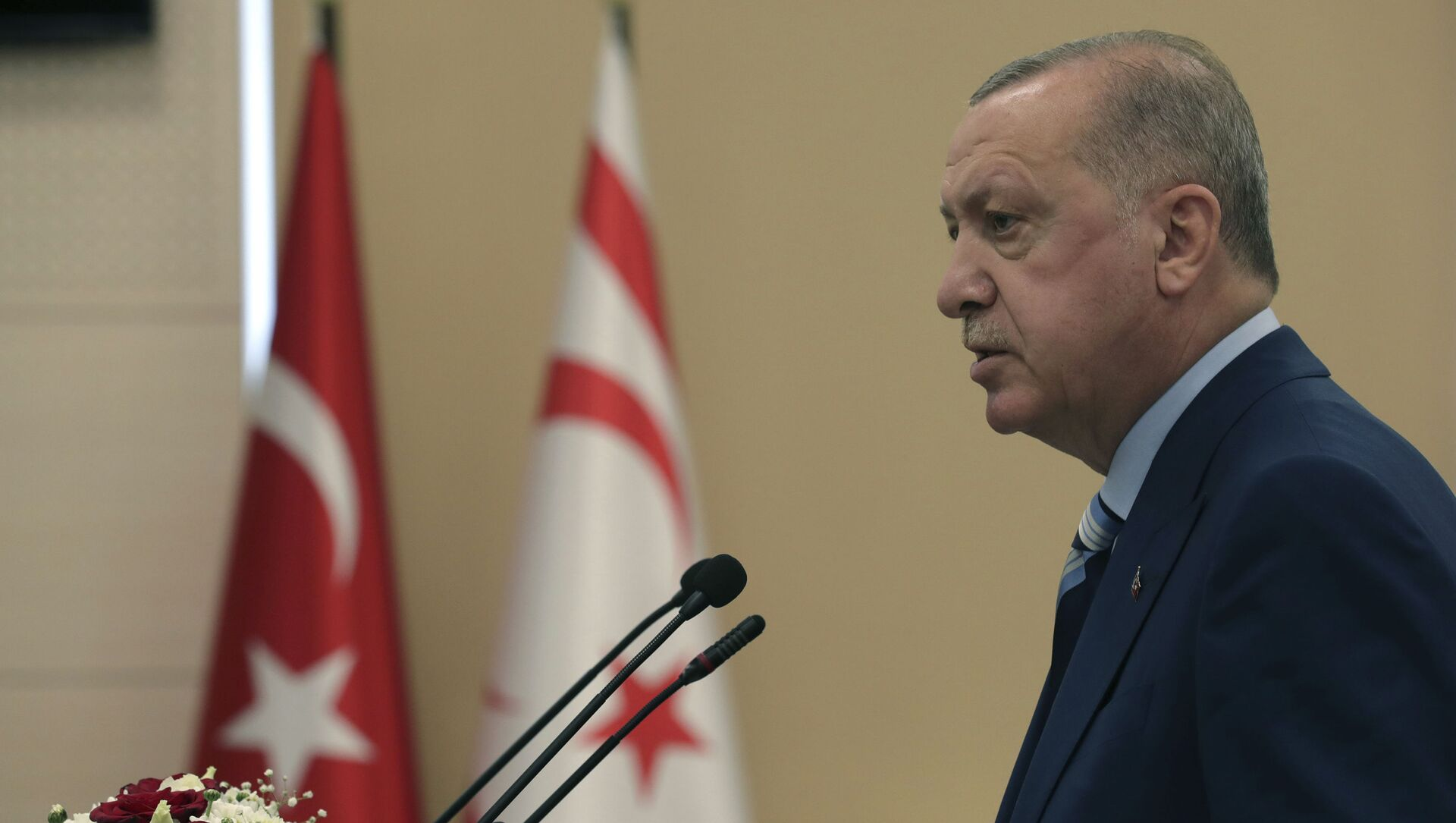 Президент Турции Реджеп Тайип Эрдоган, фото из архива - Sputnik Azərbaycan, 1920, 29.08.2021