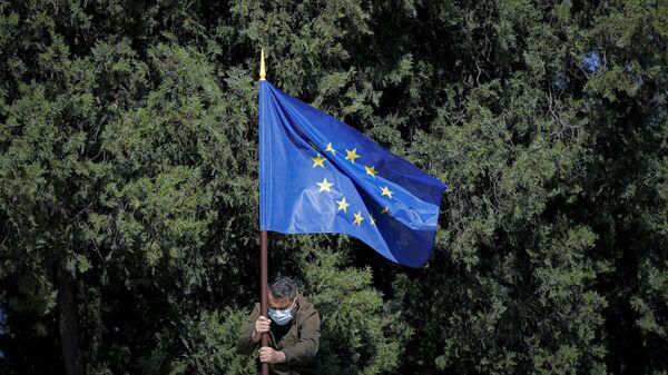 Aİ bayrağı, arxiv şəkli - Sputnik Azərbaycan
