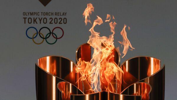 Логотип Олимпийских игр Токио-2020, фото из архива - Sputnik Azərbaycan