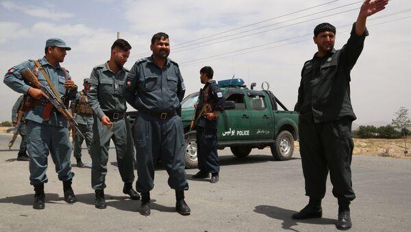 Контрольно-пропускной пункт в Кабуле - Sputnik Азербайджан