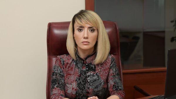 Telejurnalist Günel Gözəlova - Sputnik Азербайджан