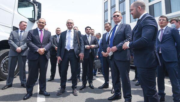Мероприятие в рамках деловой миссий российских компаний под эгидой АО РОСЭКСИМБАНК в Баку - Sputnik Азербайджан