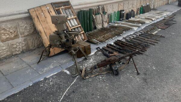 В Физули обнаружены боеприпасы, оставленные ВС Армении - Sputnik Азербайджан