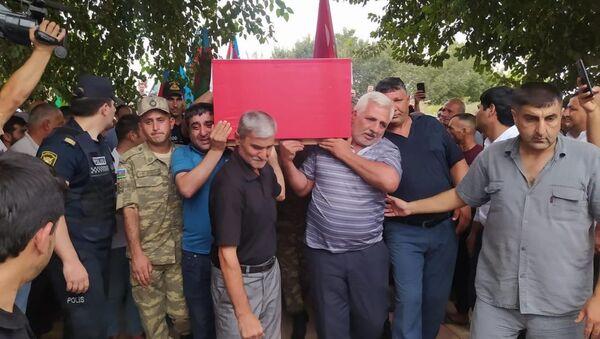 Fərman Yaqublunun dəfn mərasimi - Sputnik Азербайджан