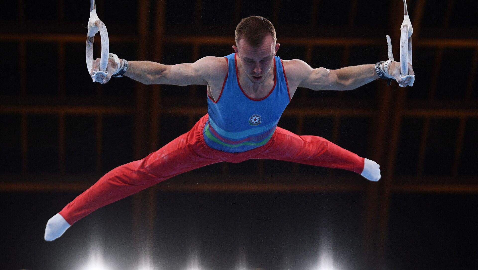 Спортивный гимнаст Иван Тихонов - Sputnik Азербайджан, 1920, 24.07.2021