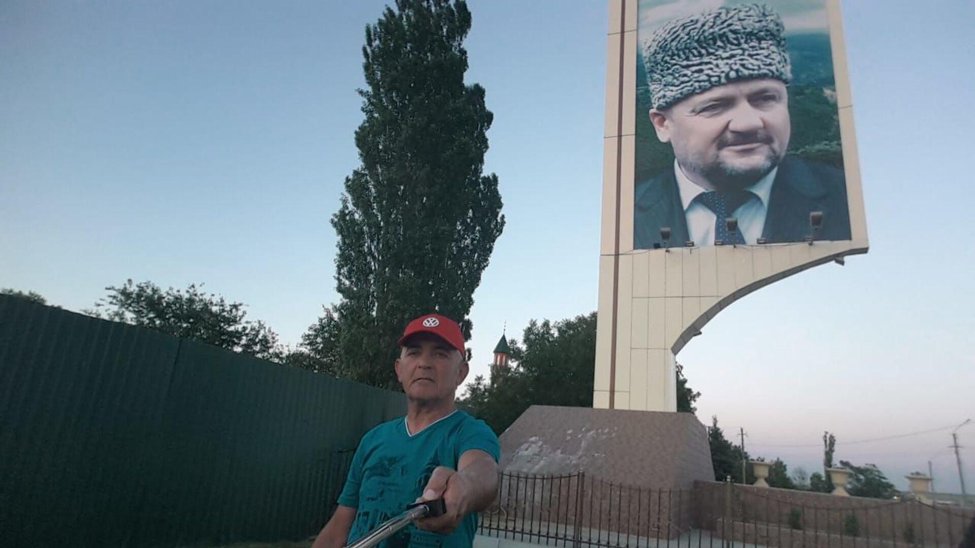 Пенсионер из Мингячевира готов отправиться в Европу на велосипеде - Sputnik Азербайджан, 1920, 27.07.2021