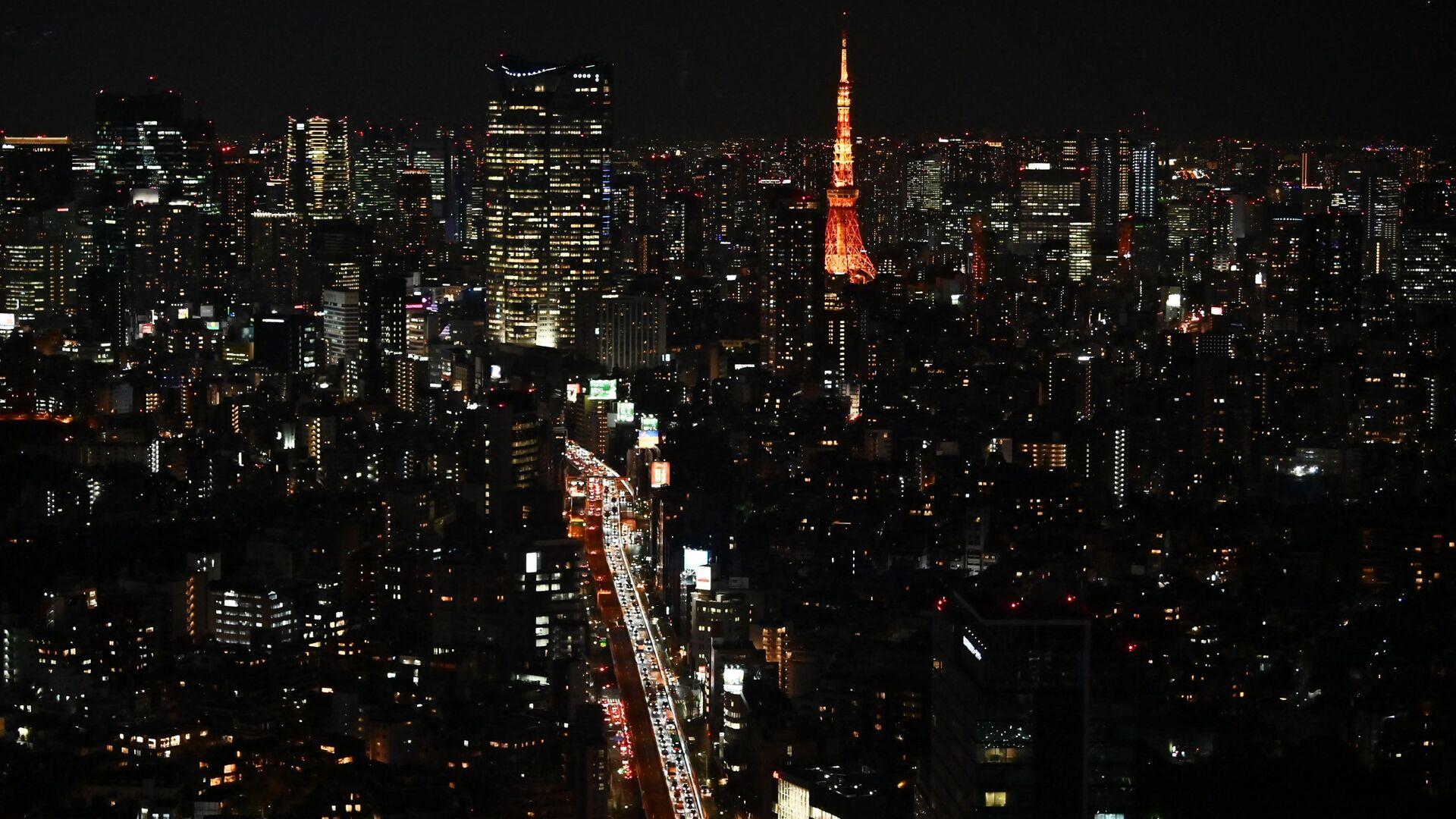 Вид на Токио, фото из архива - Sputnik Азербайджан, 1920, 26.07.2021