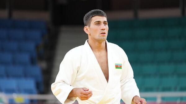 Азербайджанский дзюдоист Рустам Оруджев, фото из архива - Sputnik Азербайджан
