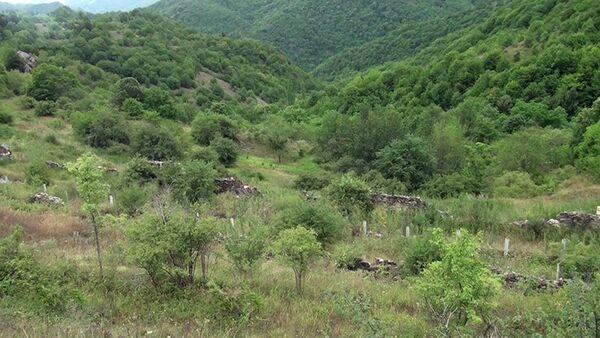 Kəlbəcər rayonunun Günəşli kəndi - Sputnik Азербайджан
