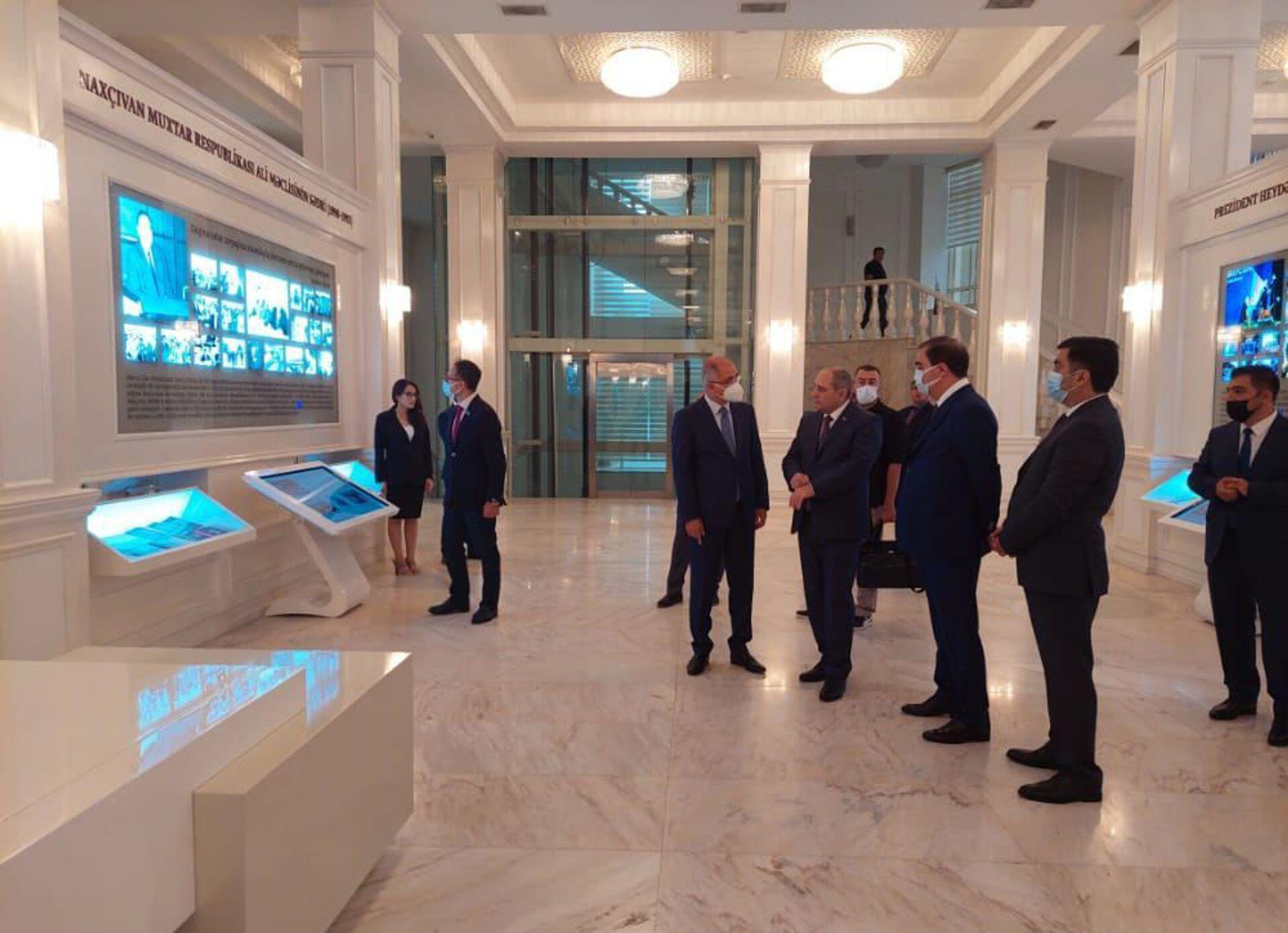 Правящие партии Азербайджана и Турции посовещались в Гяндже - Sputnik Азербайджан, 1920, 28.07.2021