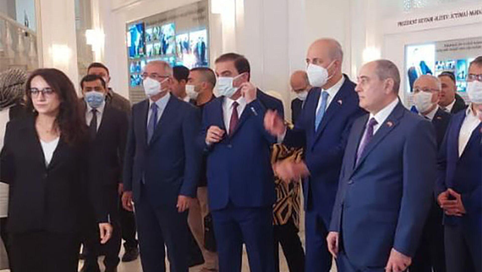 Правящие партии Азербайджана и Турции проводят конференцию в Гяндже. - Sputnik Азербайджан, 1920, 28.07.2021