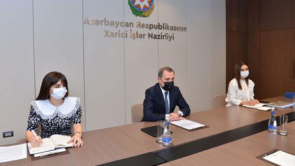 Azərbaycan Xarici işlər naziri Ceyhun Bayramov - Sputnik Azərbaycan