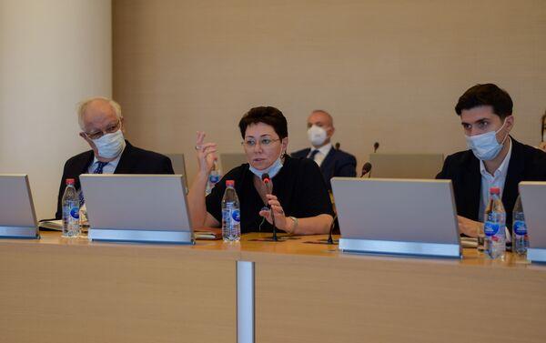 Встреча руководства правления Фонда возрождения Карабаха с послами Азербайджана за рубежом - Sputnik Азербайджан