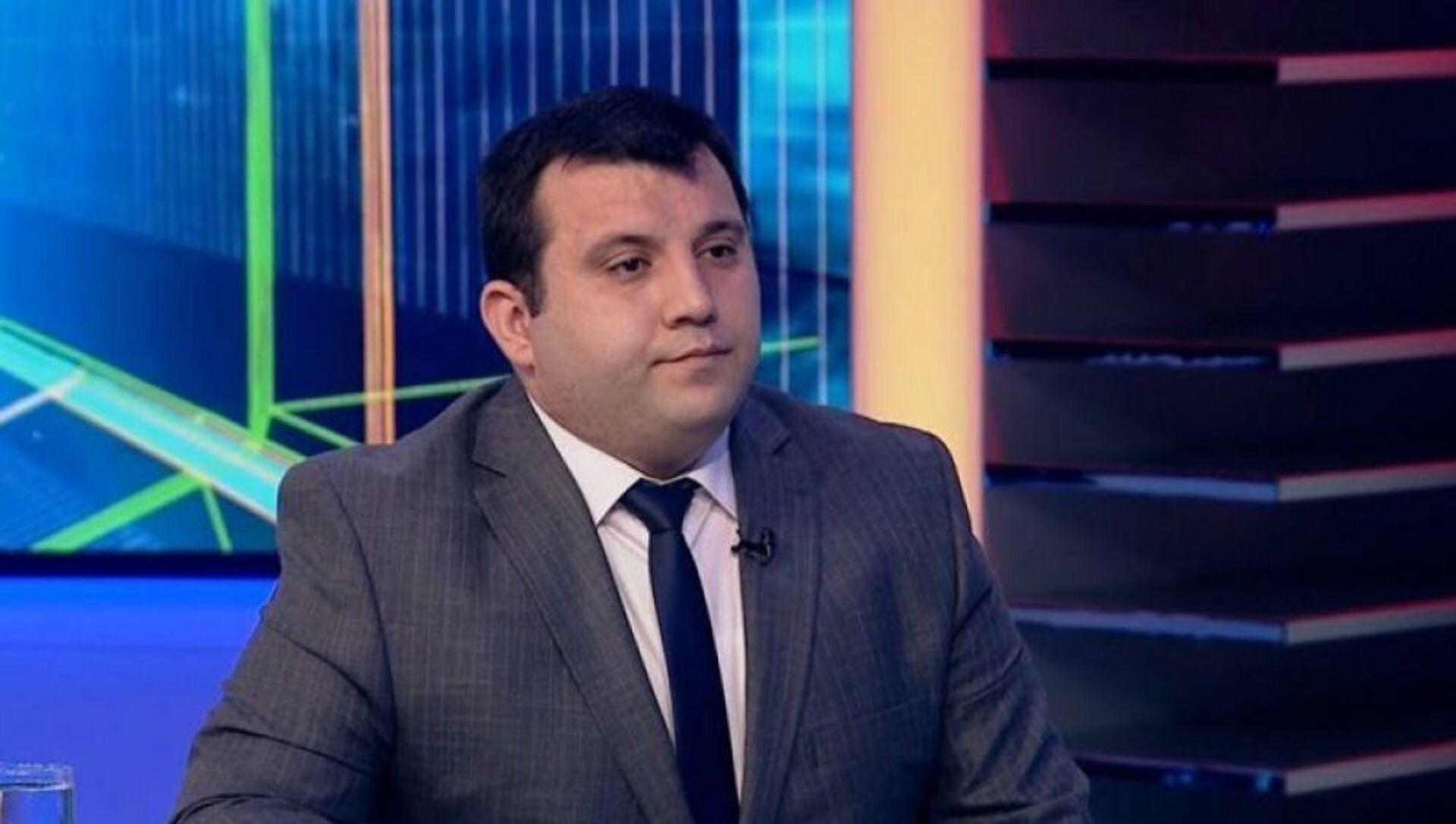 Илькин Ибрагимов - Эксперт по вопросам страхования   - Sputnik Азербайджан, 1920, 29.07.2021