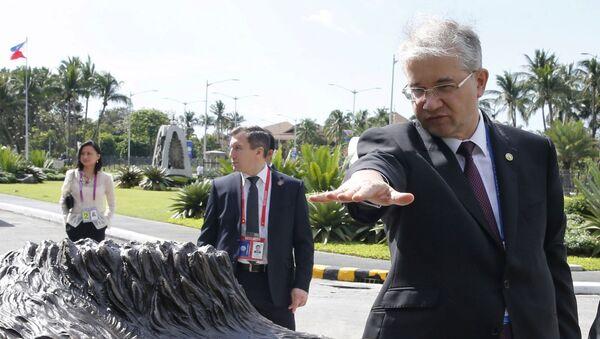 Российский дипломат Игорь Ховаев - Sputnik Azərbaycan