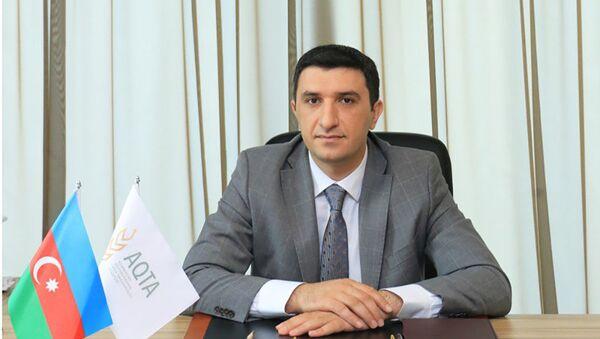 AQTA-nın aparat rəhbəri Elxan Mikayılov  - Sputnik Azərbaycan