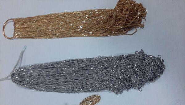 Контрабандные ювелирные изделия - Sputnik Азербайджан