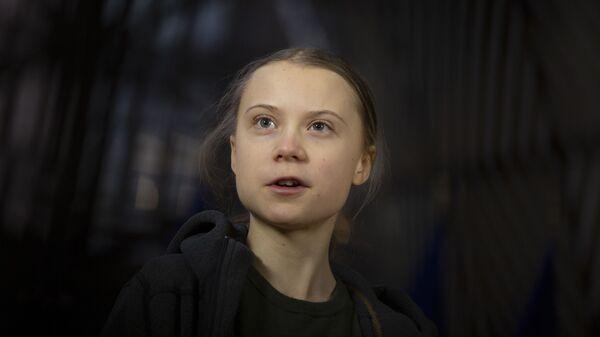 Грета Тунберг, фото из архива - Sputnik Азербайджан