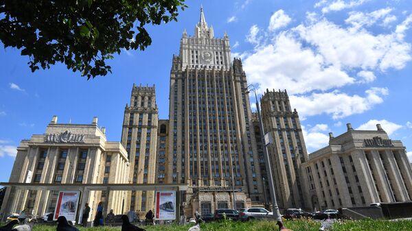Rusiya Xarici işlər Nazirliyinin binası, arxiv şəkli - Sputnik Азербайджан