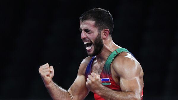 Азербайджанский борец по греко-римской борьбе Рафик Гусейнов, фото из архива - Sputnik Азербайджан