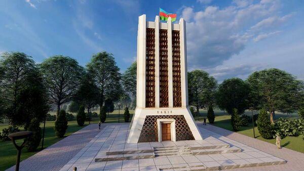 Мавзолей Молла Панаха Вагифа в городе Шуша. - Sputnik Азербайджан