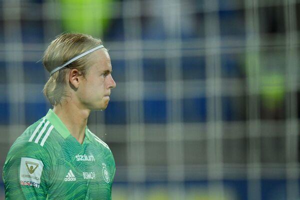 : Игровой момент матча 3-го квалификационного раунда Лиги Европы между бакинским Нефтчи и финским ХИК. - Sputnik Азербайджан