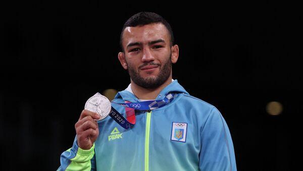 Украинский борец азербайджанского происхождения Пярвиз Насибов - Sputnik Azərbaycan