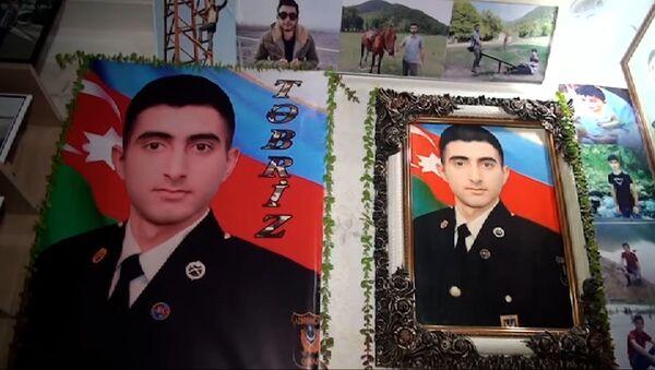 Отец превратил комнату сына-шехида в музей - видео - Sputnik Азербайджан