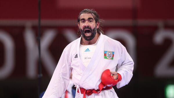Азербайджанский каратист Рафаэль Агаев - Sputnik Azərbaycan