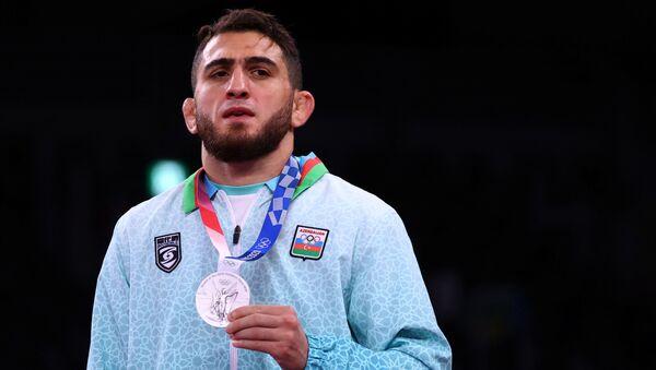Азербайджанский борец Гаджи Алиев - Sputnik Азербайджан