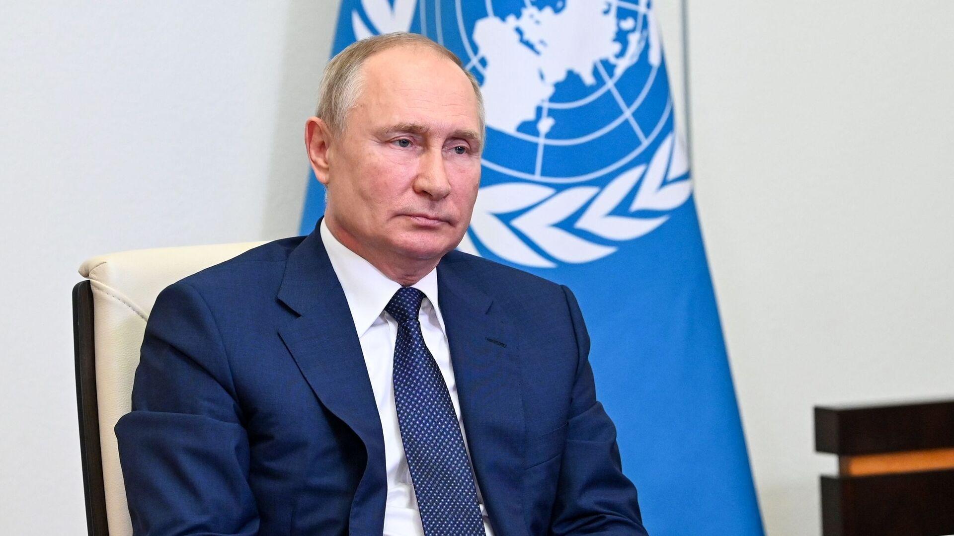 Rusiya Prezidenti Vladimir Putin - Sputnik Azərbaycan, 1920, 13.10.2021